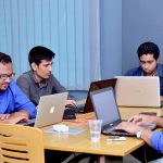 Tigers App working at Hubdhaka