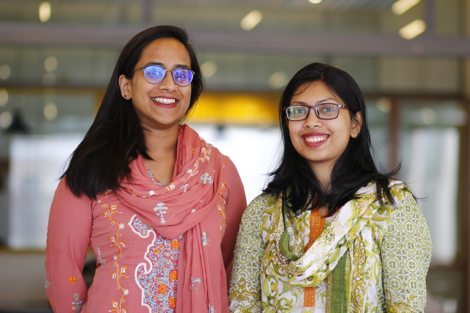 Moar Founders. Nahid Sharmin and Nabila Nowrin