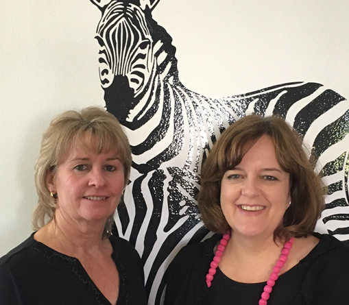 Founders of The Cowork Space - Wilna Beukes and Pauline Hawthorne