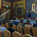 Melina Chan talking what is unconference in CUASIA February 2017