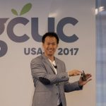 Jerome Chang talking about designing coworking space in CAMP GCUC USA 17
