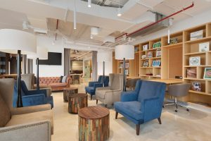 Well furnished interior at Nest