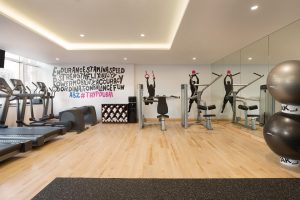 Gym at the nest coworking