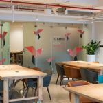 A view inside Nest Coworking