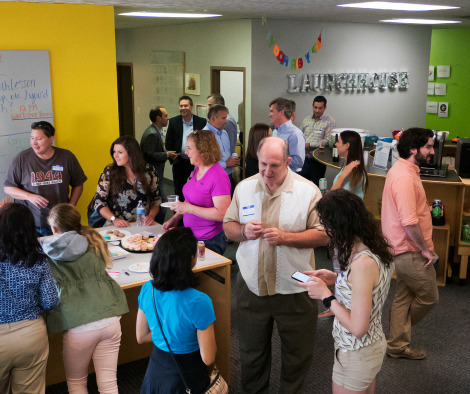 Happy Hour at LaunchHouse